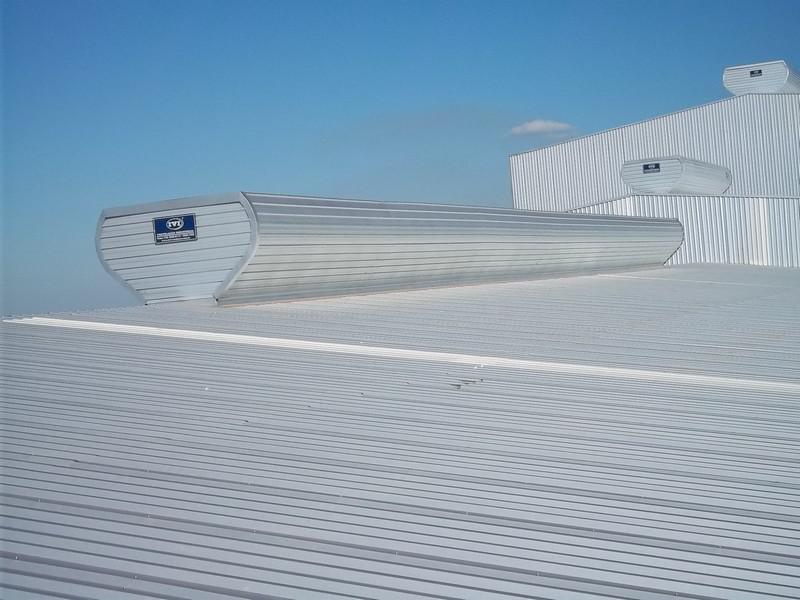 Sistema de ventilação para galpão
